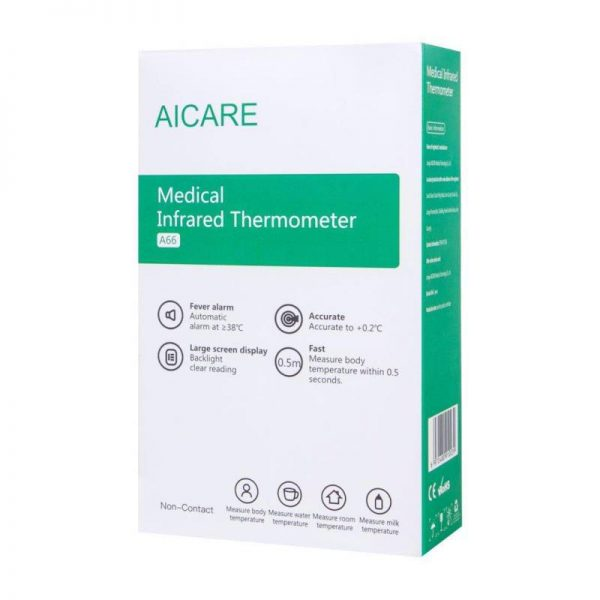 Aicare Infrared Forehead Thermometer Digital Thermometers-3